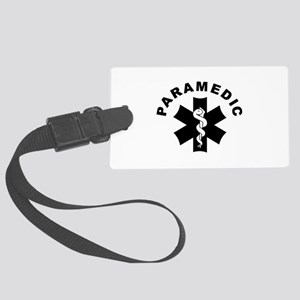 Paramedic Star Of Life Large Luggage Tag