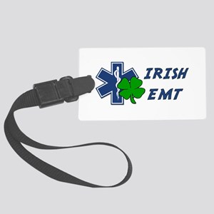 Irish EMT Large Luggage Tag