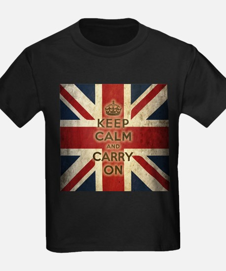 Vintage Keep Calm And Carry On T