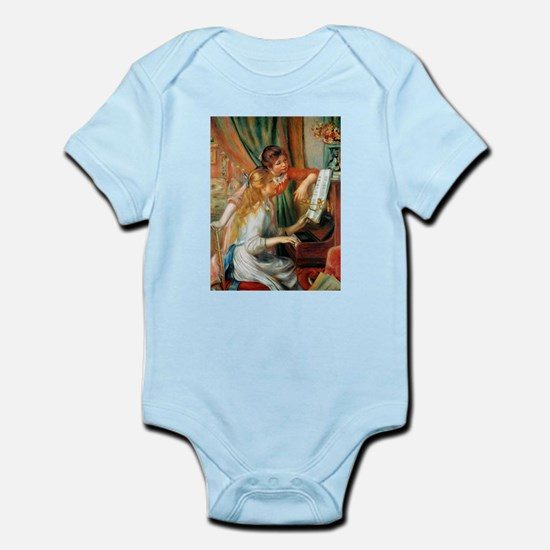 Renoir Girls At The Piano Infant Bodysuit