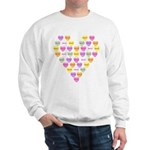 Candy Hearts Sweatshirt