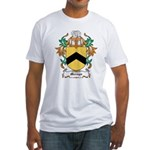 Mervyn Coat of Arms Fitted T-Shirt