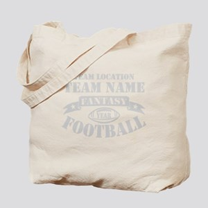 FANTASY FOOTBALL PERSONALIZED GREY Tote Bag