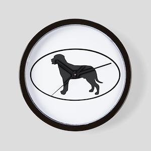 Greater Swiss Mountain Dog Wall Clock