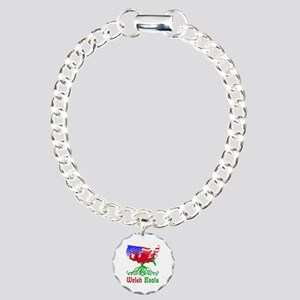 American Welsh Roots Charm Bracelet, One Charm