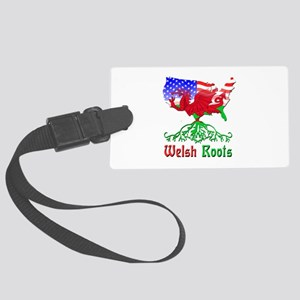 American Welsh Roots Large Luggage Tag