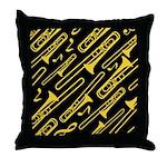 Trombone Gift Throw Pillow
