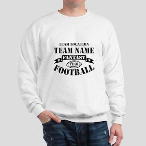 Your Team Fantasy Football Black Sweatshirt