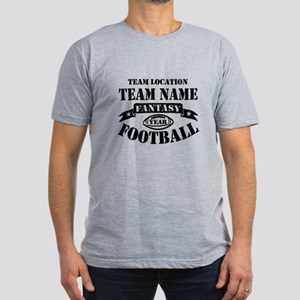 Your Team Fantasy Foot Men's Fitted T-Shirt (dark)