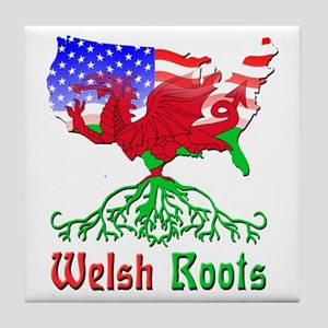 American Welsh Roots Tile Coaster
