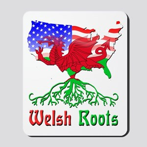 American Welsh Roots Mousepad