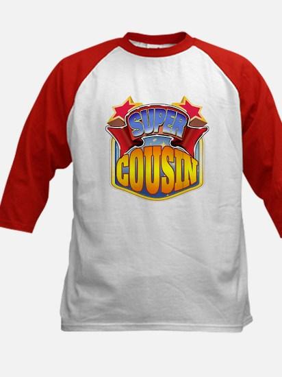 Super Cousin Kids Baseball Jersey