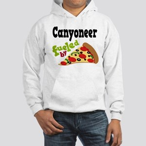 Canyoneer Funny Pizza Hooded Sweatshirt