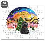 XMusic2-Black Cocker Puzzle