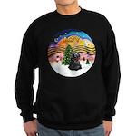 XMusic2-Black Cocker Sweatshirt (dark)