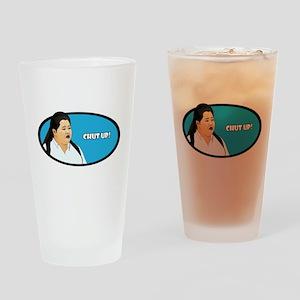 Chut Up! Drinking Glass