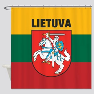 Lithuania Shower Curtain