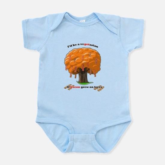 Bacon tree Infant Bodysuit