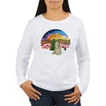 XMusic2-Buff Cocker Women's Long Sleeve T-Shirt