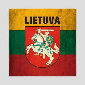 Vintage Lithuania Queen Duvet