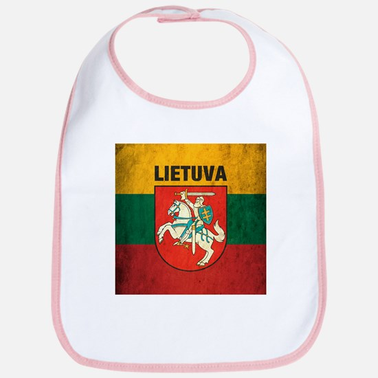 Vintage Lithuania Bib