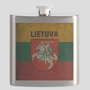Vintage Lithuania Flask