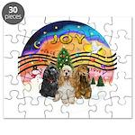 XMusic2-Three Cocker Spaniels Puzzle