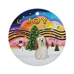 XMusic2-Havanese Ornament (Round)