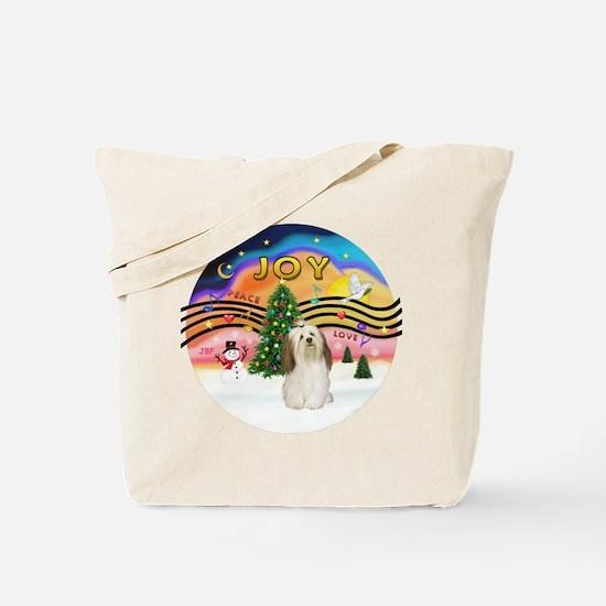 XMusic2-Havanese Tote Bag