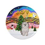 """XMusic 2 - Havanese (F) 3.5"""" Button (100 pack"""