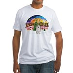XMusic 2 - Havanese (F) Fitted T-Shirt