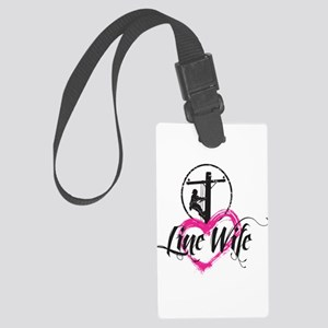 Line Wife Large Luggage Tag