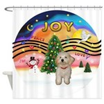XMusic2-Havanese Pup Shower Curtain