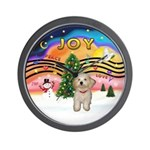 XMusic2-Havanese Pup Wall Clock
