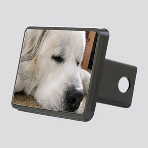 Great Pyrenees Rectangular Hitch Cover
