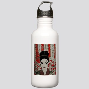 oriental red Stainless Water Bottle 1.0L