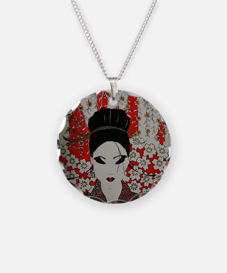oriental red Necklace