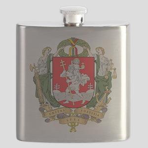 Vilnius Coat Of Arms Flask