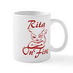 Rita On Fire Mug
