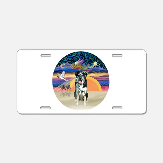 XAngel-Catahoula Leop. Aluminum License Plate