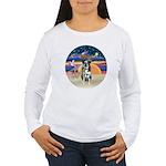 XAngel-Catahoula Leop. Women's Long Sleeve T-Shirt