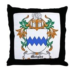 Meighe Coat of Arms Throw Pillow