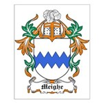 Meighe Coat of Arms Small Poster