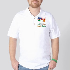 American Irish Roots Golf Shirt