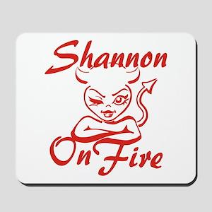 Shannon On Fire Mousepad