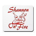 Shannon On Fire Mousepad