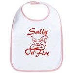 Sally On Fire Bib