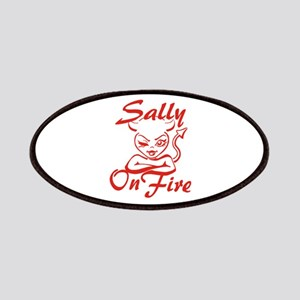 Sally On Fire Patches