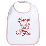 Sarah On Fire Bib