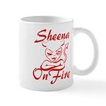 Sheena On Fire Mug